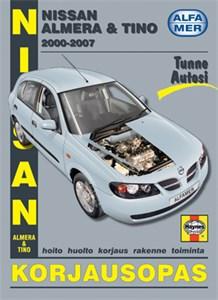 Haynes Reparationshandbok, Nissan Almera & Tino, Universal