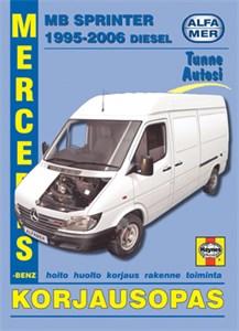 Haynes Reparationshandbok, Mercedes-Benz Sprinter diesel, Universal