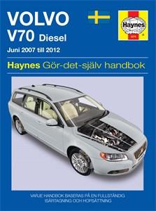 Haynes Reparationshandbok, Volvo V70 Diesel, Universal