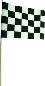 Checker flagga 30x46 cm, Universal