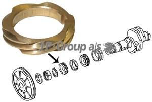 Kugghjul, strömfördelare