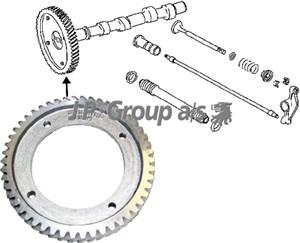 Reservdel:Volkswagen Transport Kugghjul, kamaxel