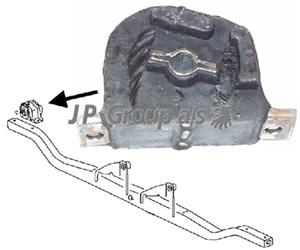 Moottorin tuki, Vasen
