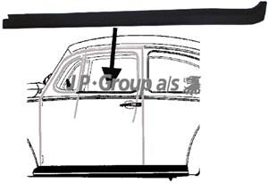 Tetning, siderute, Hjulside, Foran venstre