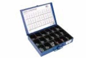 Tarvikelaatikko peltiruuvit & verhoilulaatat, Universal