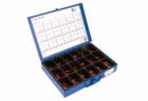 Tarvikelaatikko kuparilaatat 18 kpl, Universal