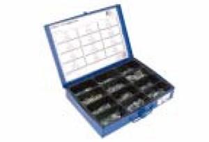 Sortimentboks fjærskiver med tannede skiver, Universal