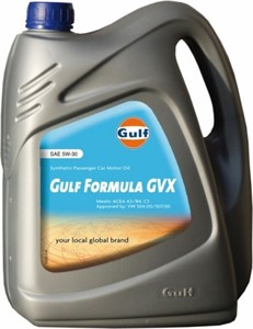 Reservdel:Opel Vectra Gulf Formula GVT 5W-30