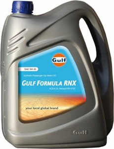 Gulf Formula RNX 5W-30, Universal