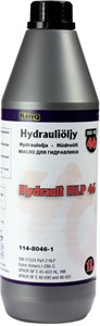 Hydrauliikkaöljy  iso vg46 1 l, Universal