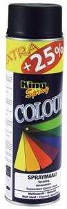 Akryllakk, matt svart 500 ml, Universal