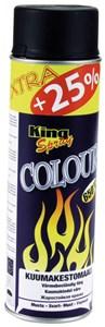 Värmefärg, Svart 500 ml, Universal