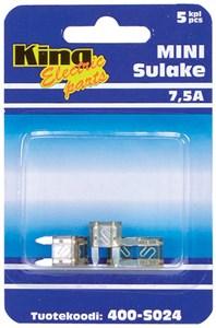 Flatsikring mini 7,5 a, Universal