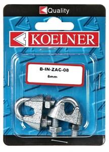 Wirelås, 3mm zink 5 st, Universal