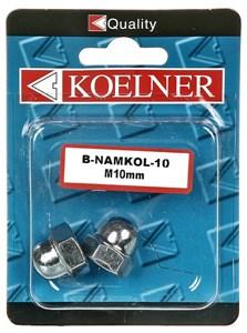 Kupolmutter, m8 zink 4 st, Universal