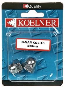 Kupolmutter, m10 zink 2 st, Universal