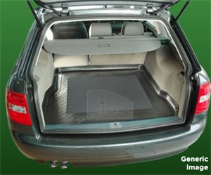 Bagagerumsmatta, Audi A6 Sedan (C6), Universal