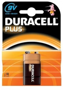 Bildel: Duracell 6LR61, Universal