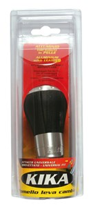 "GEAR SHIFT KNOB ""KIKA"" BLACK, Universal"