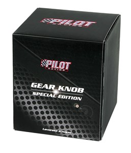 "GEAR SHIFT KNOB ""VECTOR-BRILLIANT"" BLACK, Universal"