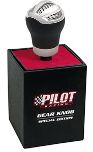 """KNIGHT"" GEAR KNOB,BLACK, Universal"
