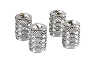 ALUMINIUM VALVE CAPS WITH DIAMONDS, Universal