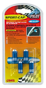 VALVE CAP SET BLUE COLOUR, Universal