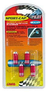 Bildel: VALVE CAP SET RED COLOUR, Universal