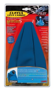 BLUE GEAR SHIFT COVER W/RING, Universal