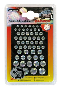 CRYSTAL STICKERS WITH 4 SIZES, Universal