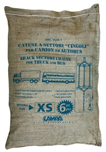 Track sectors chains - Gr XS - For truck and bus, Universal
