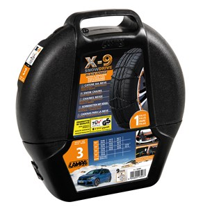 X-9mm - Manganese Car snow chains - Gr 3 - net type, Universal