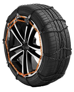 X-9mm - Manganese Car snow chains - Gr 13 - net type, Universal