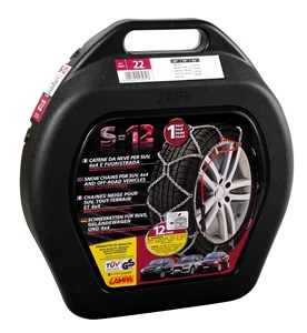 S-12mm - SUV & 4x4 Snow chains - Gr 21, Universal