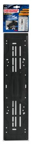 STEEL REAR PLATE HOLDER,BLACK, Universal