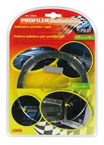 ADHESIVE PROFILER REFLECTIVE TAPE 1,2CM X 4M, Universal