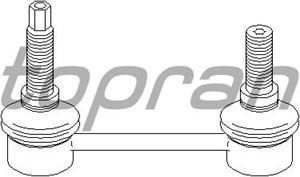 Rod/Strut, stabiliser, Rear, left or right