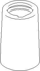 Deksel/folder, støtdemper, Bak, høyre eller venstre