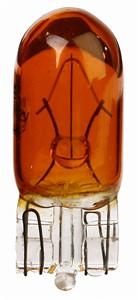 Glødepære, glassockel (W2,1x9,5D) (WY5W), Universal