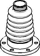 Belg, drivaksel, Girkassesiden, Foran, høyre eller venstre