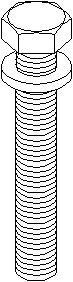 Hihnapyörän ruuvi