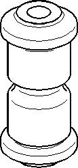 Bøssing, fjæropphengning, Bak, Foran, Bak, høyre eller venstre