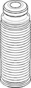 deksel/folder, støtdemper, Bak, høyre eller venstre, Foran, høyre eller venstre