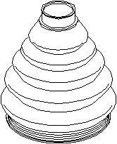 Belg, drivaksel, Hjulside, Foran, høyre eller venstre