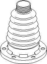 Dammskydd, drivaxel, på växellådssidan, Bakaxel höger, Bakaxel vänster, Bakaxel, båda sidor, Fram, höger eller vänster, framaxel höger, framaxel vänster
