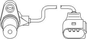 Varvtalssensor, motorhantering