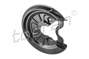 Brake Backing Plate, Rear axle right