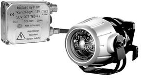 Extraljus 12V DE Xenon Premium Edition, Universal