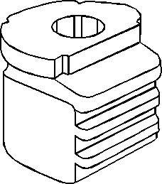 Lagring, bærebru, Foran, Foran, høyre eller venstre
