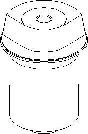 Lagring, akselskaft, Bak, høyre eller venstre